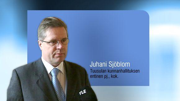 Juhani Sjöblom.