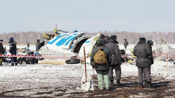 Turmassa tuhoutunut kone.