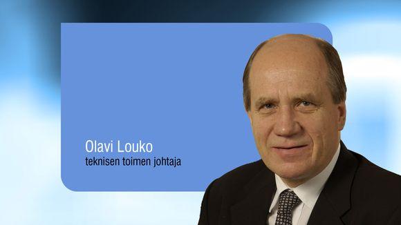 Espoon teknisen toimen johtaja Olavi Louko.