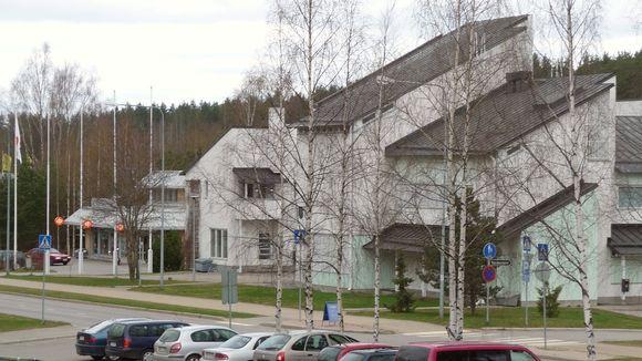 Punkaharjun kunnantalo.