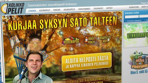 Ruutukaappaus Kolikkopelit.com-sivusta.