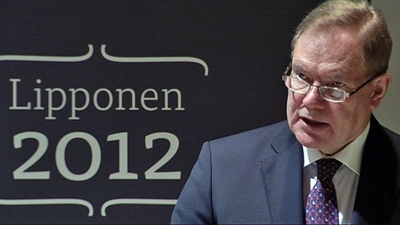 Video: Paavo Lipponen.