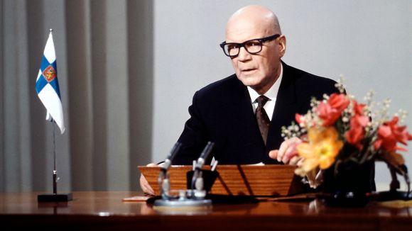 Presidentti Urho Kekkosen uudenvuodenpuhe 1.1.1970.