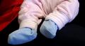 Vauvan jalat.