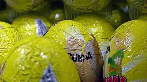 Pääsiäismunia.