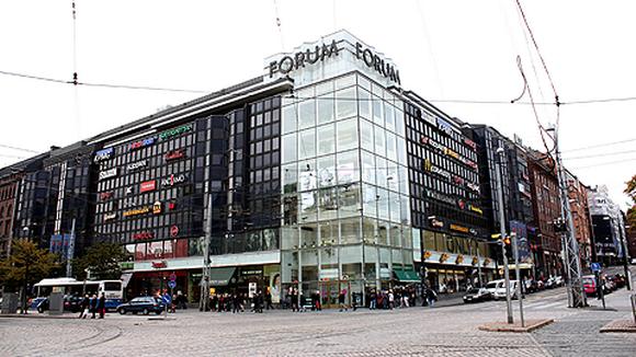 Kauppakeskus Forum Helsingissä.