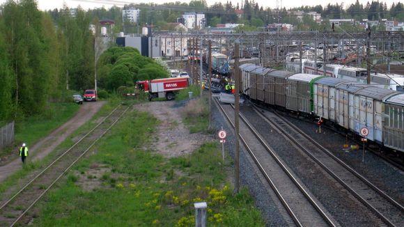 Pääradan junat myöhästelevät vielä tänään | Yle Uutiset | yle.fi