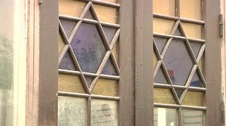 Helsingin juutalaisen seurakunnan synagogan julkisivua.