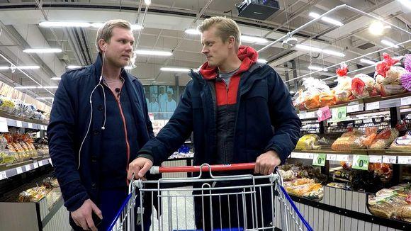 Video: Tomi Kokko ruokakaupassa