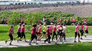 Naisten kympin juoksijoita vuonna 2014.