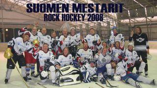 Rokkilätkän suomenmestarit 2008.
