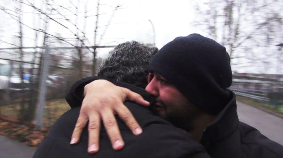 kuvakaappaus Rotislav Aallon dokumenttielokuvasta Siirto