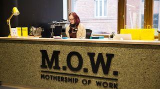 M.O.W.-talon vastaanottoaula