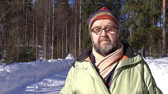 """Heikki """"Hessu"""" Malmström maaliskuussa 2013."""