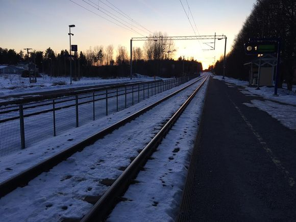 Siuntiossa ei pysähdy pääsiäisen jälkeen enää yksikään Turun juna.