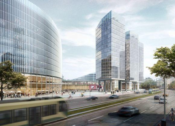 Kaupunkisuunnittelulautakunta esittää monitoimiareenan rakentamista nykyisen jäähallin tilalle Nordenskjöldinkadulle.