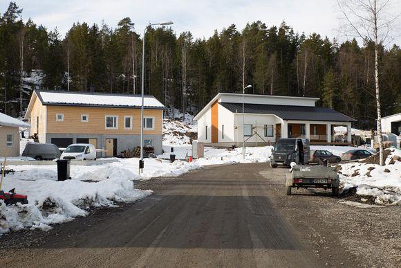 Omnakotitaloalue Nurmijärvellä
