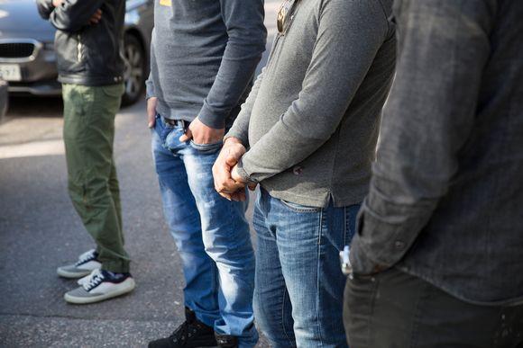 Turvapaikanhakijoita