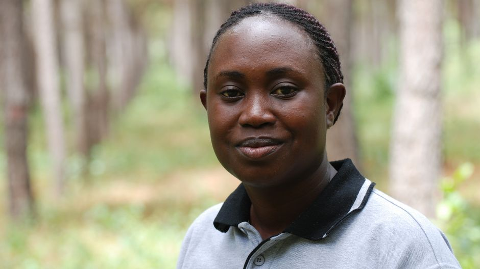 Green Resources -yhtiön ympäristö- ja kehitysasioista vastaava johtaja Teddy Nsamba.