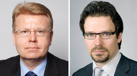 Jyri Häkämies ja Ville Niinistö