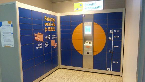 pakettiautomaatti seuranta Kannusups lähetysseuranta Helsinki