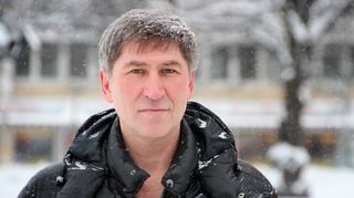 Vasili Popov Joensuussa helmikuussa 2016.