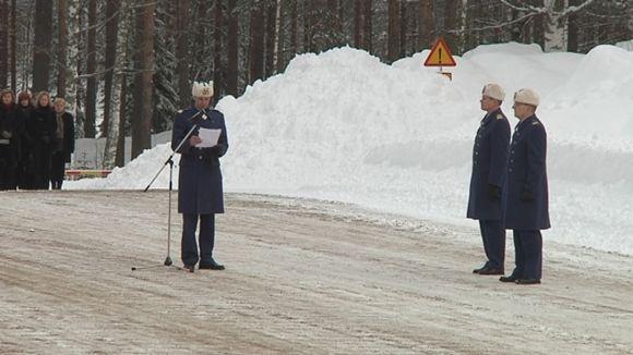 Ilmavoimien komentaja 1.3.2012 alkaen on kenraali Lauri Puranen