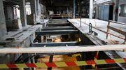 Kankaan paperitehtaan vanha teollisuushallii, Kiinaan lähteneen paperikoneen paikka.