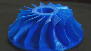 3D-tulostettu kappale.