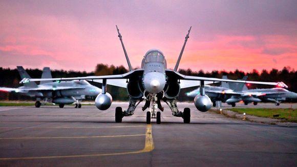 Ruska-harjoituksessa lennetään yli 50 koneella tällä viikolla.