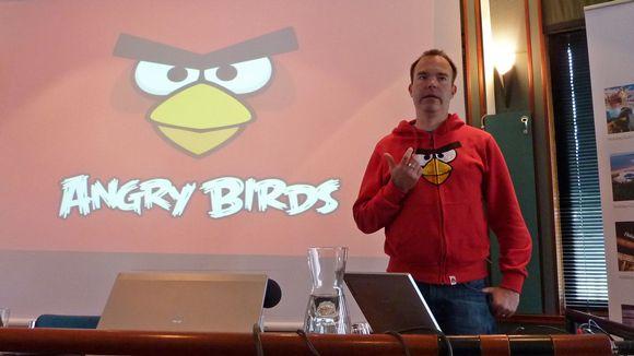 Audio: Peter Vesterbacka Vuokatin sisäaktiviteettipuiston tiedotustilaisuudessa.