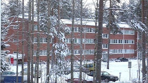 Kerrostalo Kajaanissa Hoikankankaalla