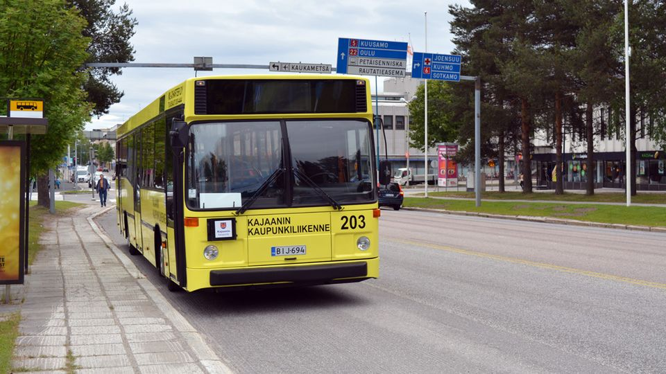 Oulu Kajaani Bussi