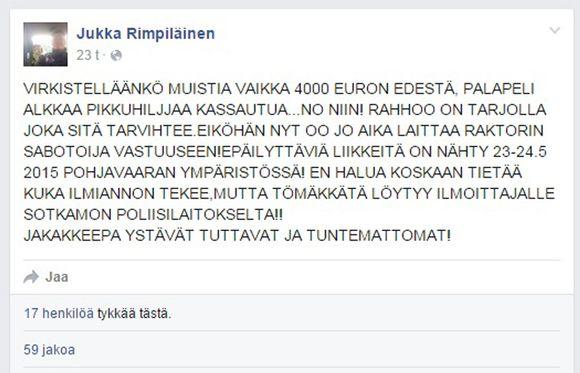 facebook suomi Kajaani