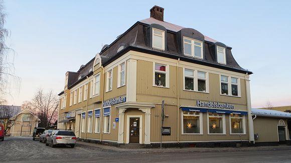 Handelsbanken Haaparannalla.