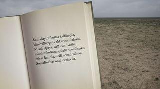 Runokirjan sivu -kuvituskuva.