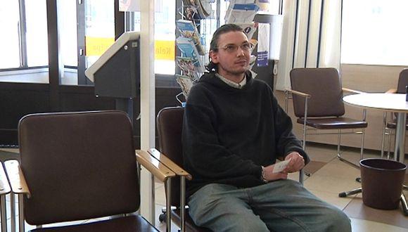 Juhani Erikkilä odottaa Kelassa vuoroaan.