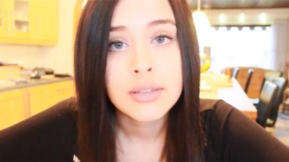 Kuvakaappaus Saran kielivideosta Youtubesta