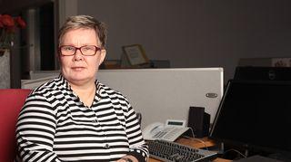 Kuvassa Hannele Haanpää-Holappa