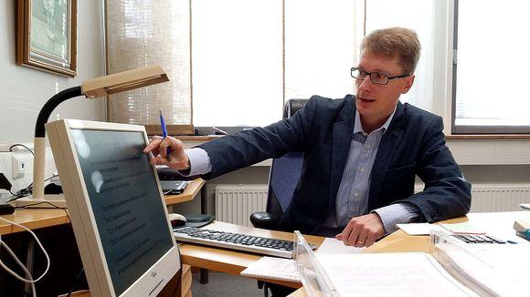 Keski-Pohjanmaan erikoissairaanhoito- ja peruspalvelukuntayhtymän toimitusjohtaja Ilkka Luoma