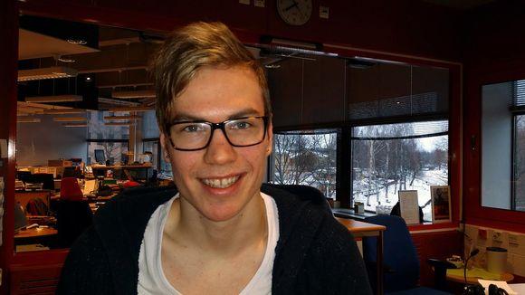 Kuvassa muusikko Torsten Borg