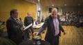 Keskustan Tuomo Puumala antaa äänensä Kokkolan kaupunginjohtajavaalissa.