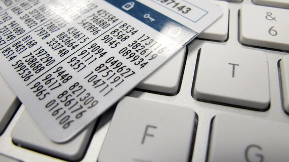 Sampo Pankin avainlukulista on tietokoneen näppäimistön päällä.