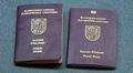 kaksi Suomen passia