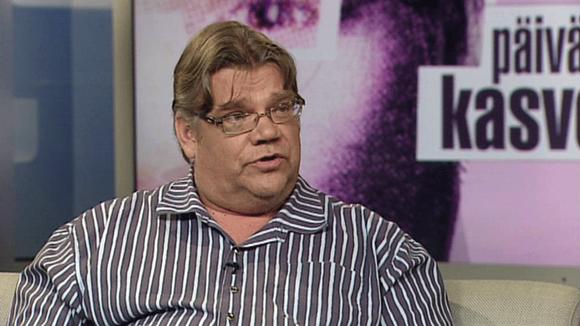 Timo Soini Päivän kasvossa 28.7.2011.