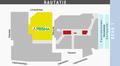 Kauppakeskus Sellon pohjakartta, jossa Prisma merkittynä.