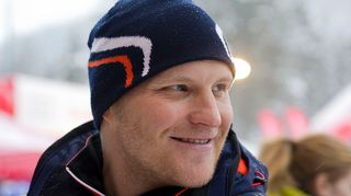 Kalle Palander pujottelun maailmancupin avauskilpailussa Levillä 10. marraskuuta.