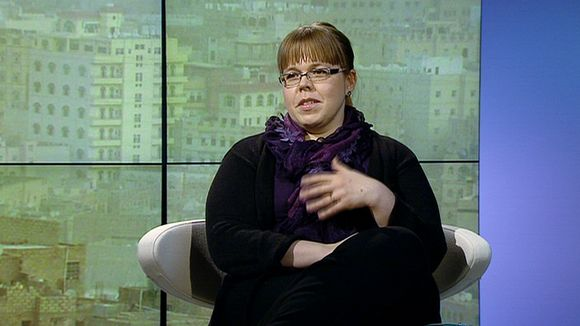 Terrorism researcher Leena Malkki.