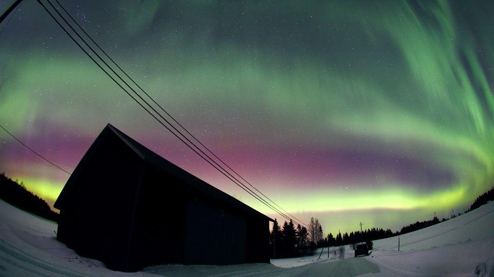 Aurora Boreal en Kuopio