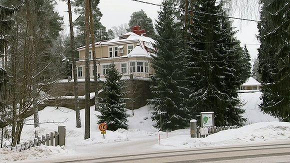 Kauniaisissa sijaitseva Villa Bensow.